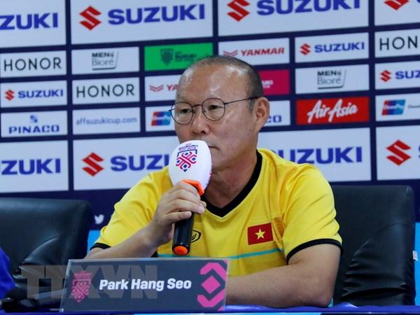 HLV Park Hang Seo nói gì sau chiến thắng đầu tay của Việt Nam?