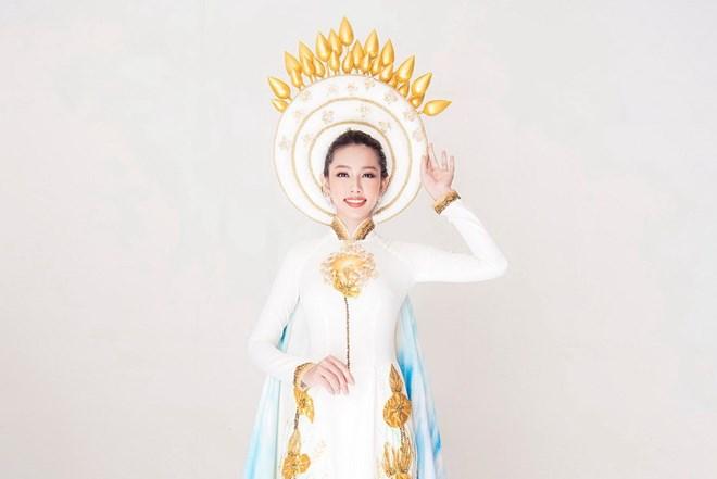 Dàn Hoa hậu gửi lời chúc Thùy Tiên trước chung kết Miss International - ảnh 1
