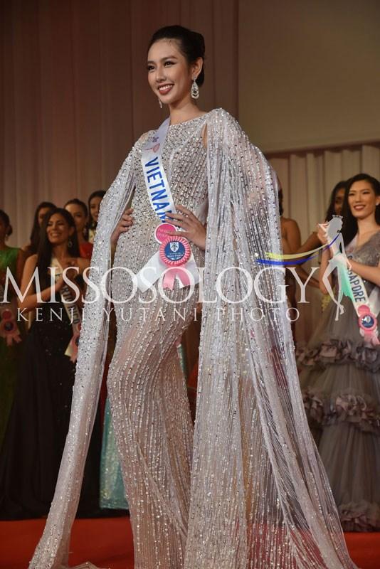 Dàn Hoa hậu gửi lời chúc Thùy Tiên trước chung kết Miss International - ảnh 2