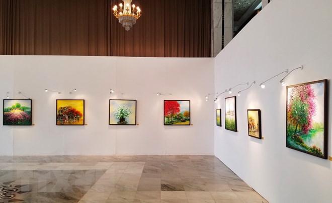 Exhibition in Algeria