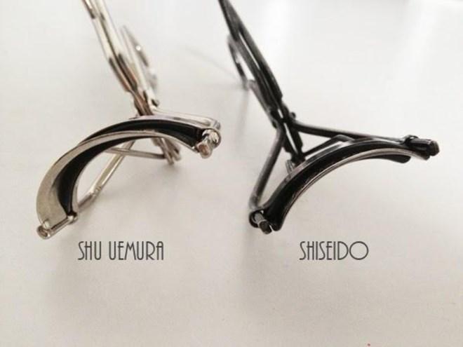 Cuộc chiến giữa kẹp mi Shiseido và Shu Uemura chưa bao giờ ngã ngũ.