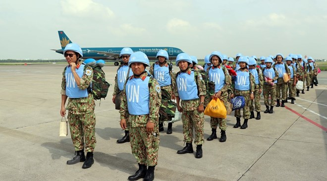 Lực lượng gìn giữ hòa bình Việt Nam lên đường sang Nam Sudan đợt 2