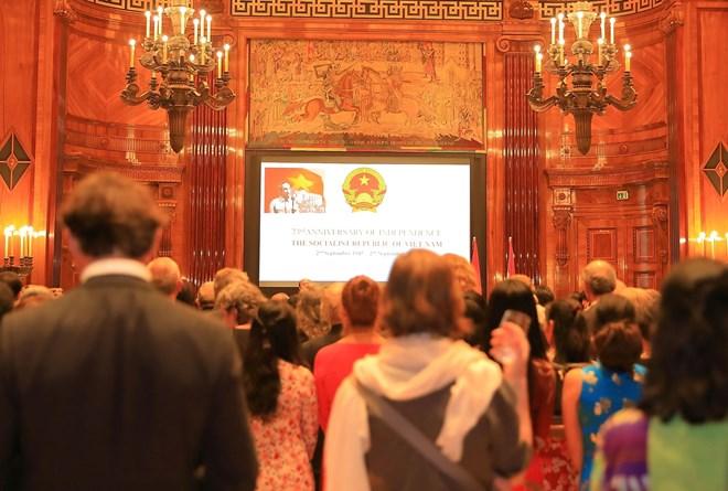 Tiệc chiêu đãi kỷ niệm Quốc khánh Việt Nam tại Cộng hòa Áo - ảnh 1