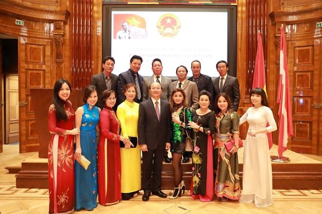 Tiệc chiêu đãi kỷ niệm Quốc khánh Việt Nam tại Cộng hòa Áo - ảnh 2