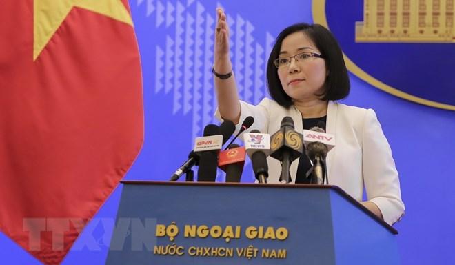 Việt Nam yêu cầu Trung Quốc chấm dứt ngay các hoạt động ở Hoàng Sa