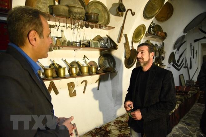 Độc đáo bảo tàng cổ vật thu nhỏ, lưu giữ lịch sử huy hoàng của Syria - ảnh 2