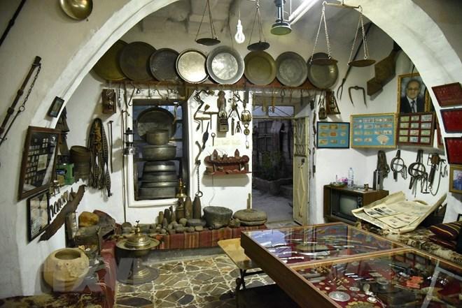 Độc đáo bảo tàng cổ vật thu nhỏ, lưu giữ lịch sử huy hoàng của Syria - ảnh 4