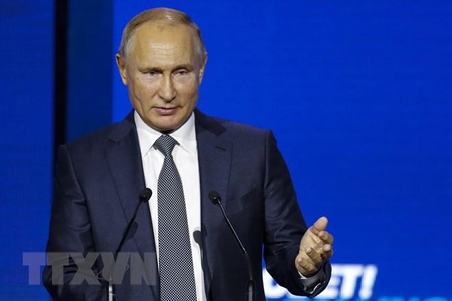 Tổng thống Nga Putin làm rõ lập trường về cuộc khủng hoảng Ukraine - ảnh 1