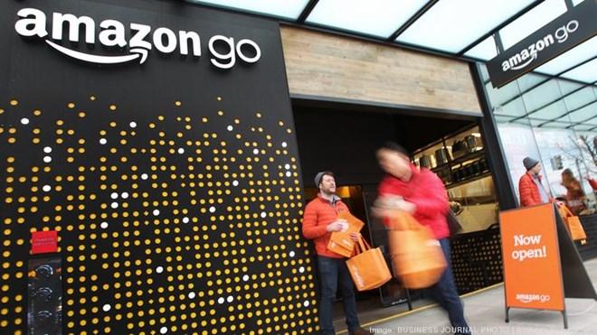 Amazon thử nghiệm công nghệ cửa hàng không thu ngân ở không gian lớn - 248880