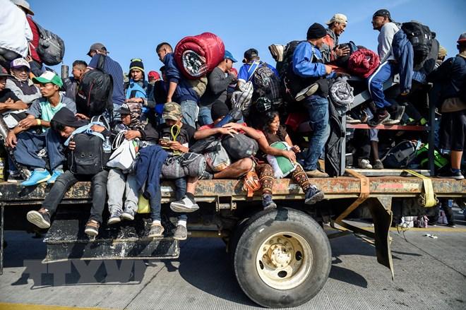 Mexico thảo luận kế hoạch giải quyết vấn đề nhập cư với Mỹ, Canada - ảnh 1