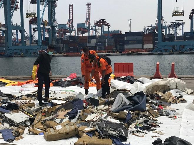 Tanjung Priok trở thành Trung tâm khủng hoảng vụ rơi máy bay Indonesia - ảnh 1