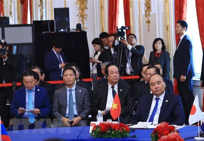 Thủ tướng phát biểu tại Hội nghị Cấp cao Mekong-Nhật Bản lần thứ 10