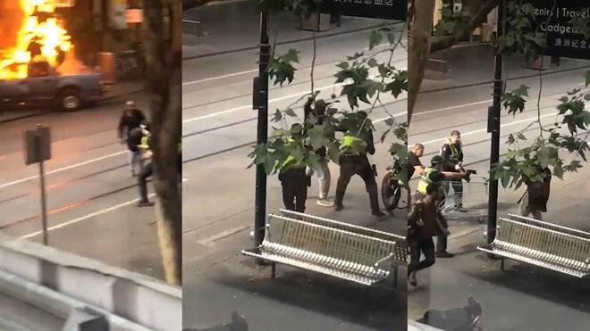 Australia: Tấn công bằng dao làm nhiều người bị thương ở Melbourne - ảnh 1