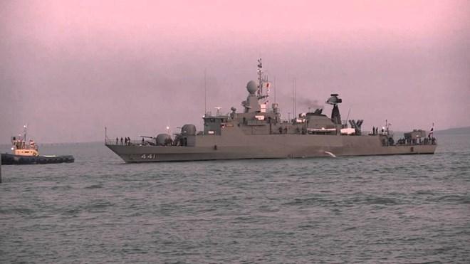 Tàu hải quân Thái Lan tới Phú Quốc, bắt đầu thăm hữu nghị Việt Nam - ảnh 1