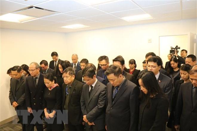 Lễ viếng và mở sổ tang Chủ tịch nước Trần Đại Quang tại LHQ 2
