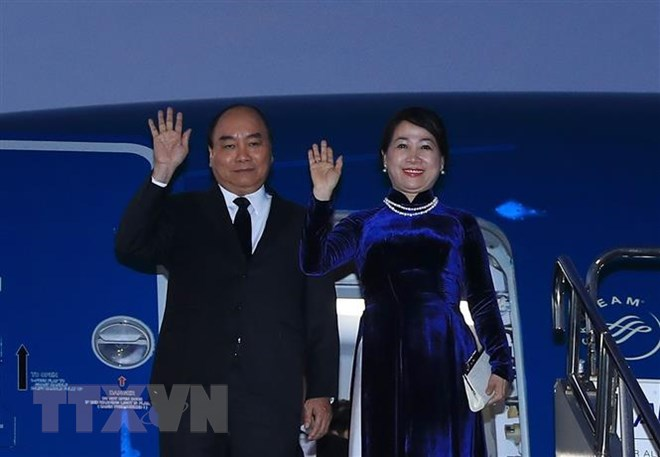 Thủ tướng Nguyễn Xuân Phúc đã tới thủ đô Tokyo của Nhật Bản