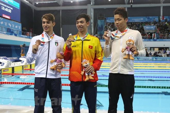 Olympic trẻ 2018: Nguyễn Huy Hoàng xuất sắc giành huy chương vàng