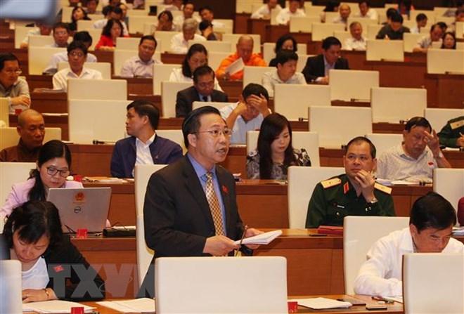 Image result for Quốc hội xem xét về dự án Luật Công an nhân dân (sửa đổi)