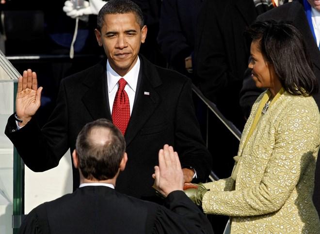 Lễ nhậm chức của Tổng thống Barack Obama năm 2009. (Ảnh: Getty)