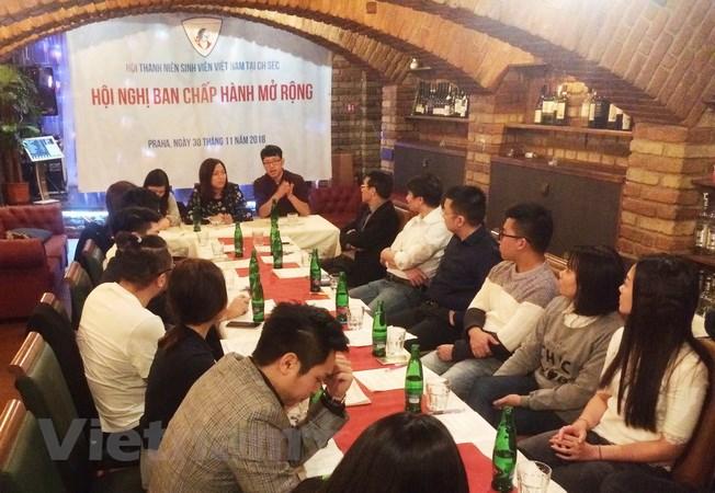 Hội Thanh niên Sinh viên Việt Nam tại Séc kiện toàn tổ chức