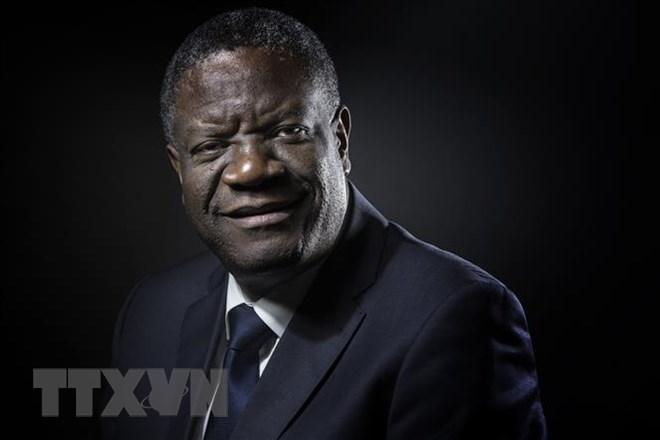 Bác sỹ người Congo Denis Mukwege. Ảnh: AFP/TTXVN