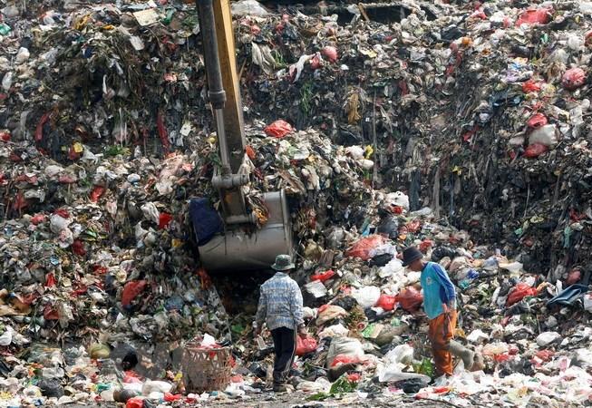 Rác thải nhựa. (Nguồn: EPA/TTXVN)