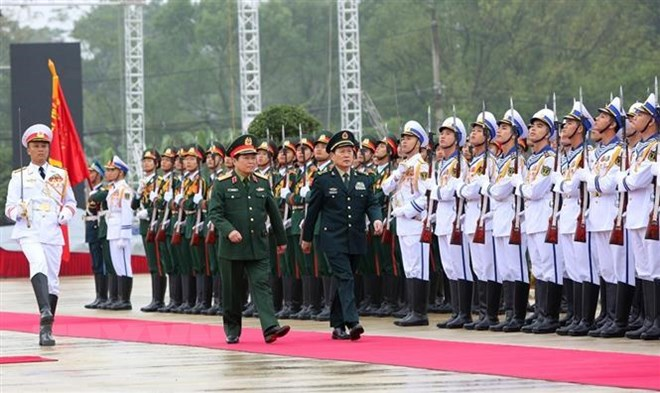 Hợp tác quốc phòng góp phần ổn định, phát triển biên giới Việt-Trung