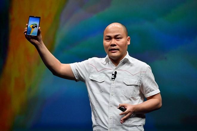 Bkav công bố smartphone không virus', màn hình tràn đáy