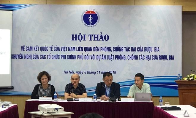 Trung bình mỗi người Việt một năm uống 8,3 lít cồn nguyên chất - ảnh 2