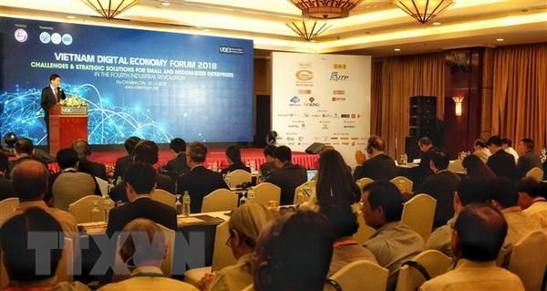 Diễn đàn Kinh tế số Việt Nam 2018 chia sẻ tầm nhìn chiến lược quốc gia