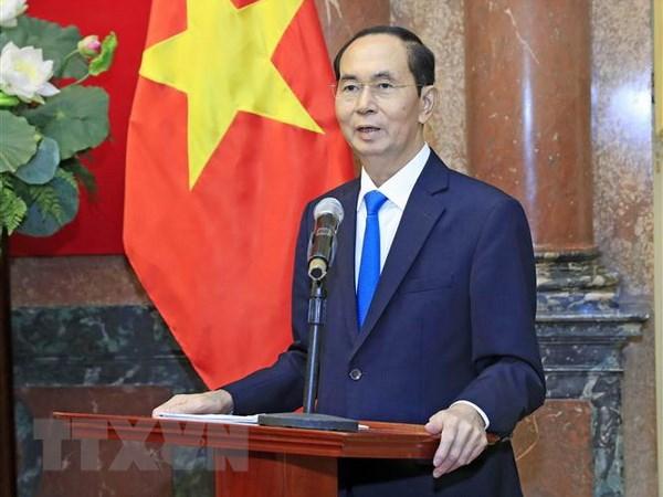 Giáo hoàng gửi điện chia buồn về Chủ tịch nước Trần Đại Quang từ trần