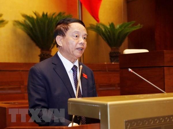 Chủ nhiệm Ủy ban Quốc phòng và An ninh của Quốc hội Võ Trọng Việt. (Ảnh: Lâm Khánh/TTXVN)