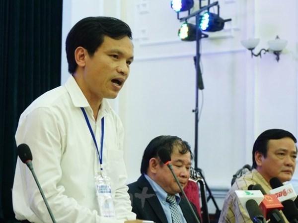 Ông Mai Văn Trinh. Ảnh: CTV/Vietnam+