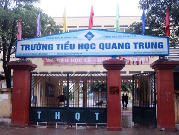 Hà Nội: Xác minh thông tin giáo viên phạt học sinh tát bạn 50 cái