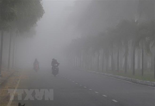 Bắc Bộ xuất hiện nhiều sương mù, nhiệt độ giảm mạnh vào sáng sớm - ảnh 1