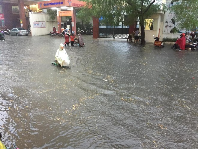 Đường phố nhiều quận nội thành Hà Nội thành