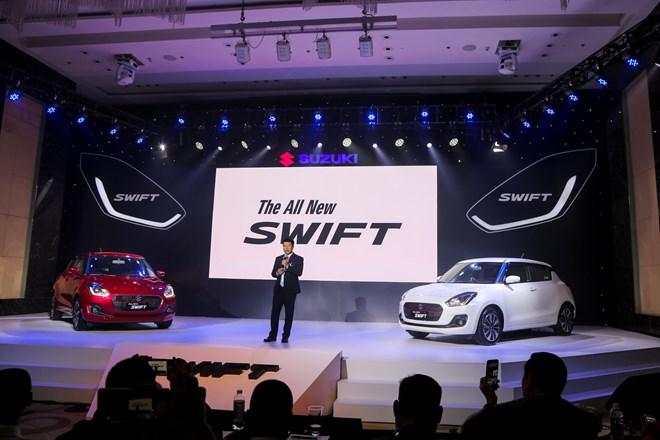 Suzuki Swift phiên bản mới giá từ 499 triệu đồng chính thức ra mắt - ảnh 1