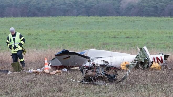 Đức: Rơi máy bay cỡ nhỏ tại Brandenburg khiến hai người thiệt mạng - ảnh 1