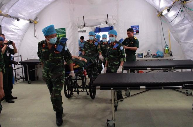 Quốc tế đánh giá cao những sỹ quan Việt Nam tham gia gìn giữ hòa bình - ảnh 1