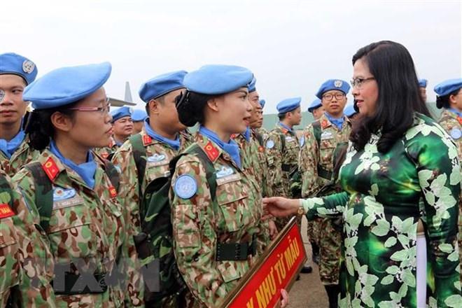 Gặp nữ sỹ quan Việt Nam đầu tiên thực hiện nhiệm vụ gìn giữ hòa bình - 1