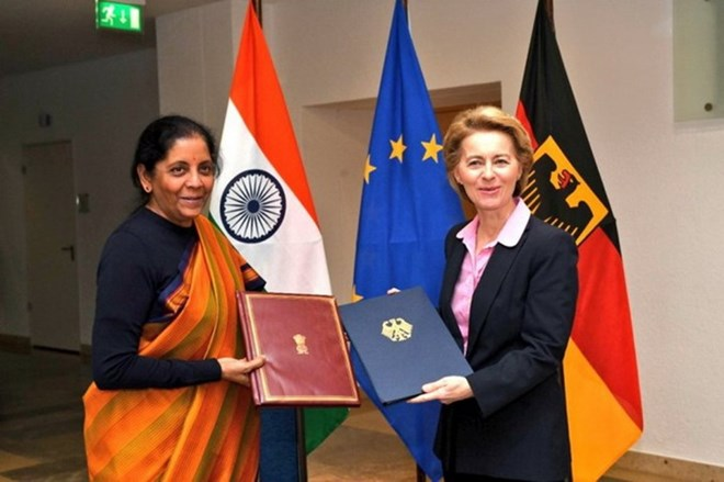 Ấn Độ-Đức xem xét toàn diện về hợp tác quốc phòng song phương