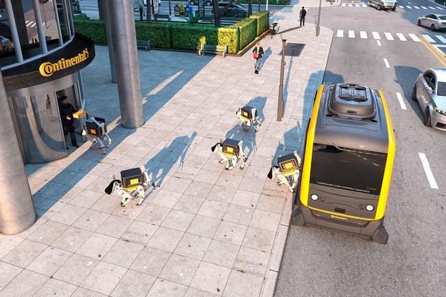 CES 2019: Sắp đến thời chó robot giao hàng thay cho con người? - ảnh 2