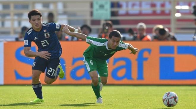 Nhật Bản đã dễ thở hơn sau khi Doan (số 21) ghi bàn gia tăng khoảng cách. (Nguồn: AFC)