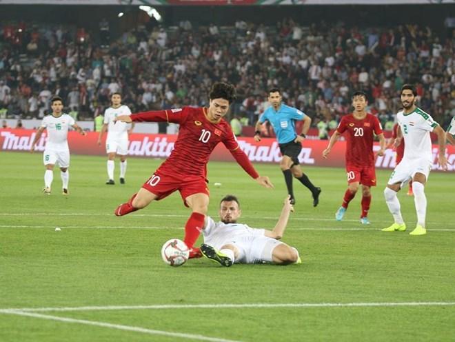 Trực tiếp Việt Nam - Iran 0-0: Công Phượng, Đức Huy đá chính - ảnh 1