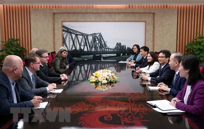 Phó Thủ tướng Vũ Đức Đam tiếp đoàn đại biểu Làng trẻ em SOS quốc tế - ảnh 1