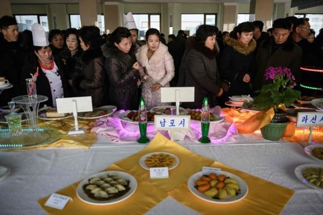 Khoai tây phủ sóng thực đơn tại cuộc thi đặc biệt ở Triều Tiên - ảnh 2