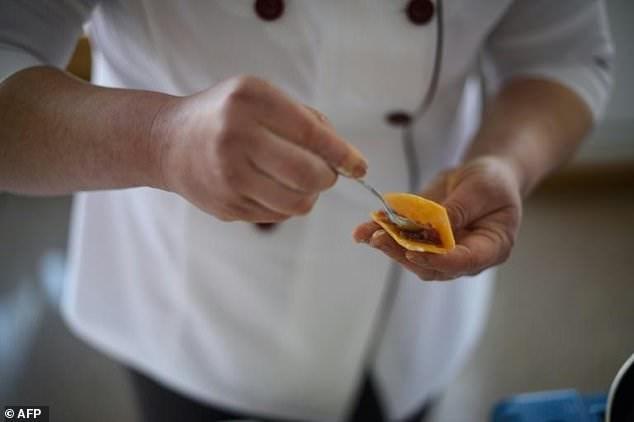 Khoai tây phủ sóng thực đơn tại cuộc thi đặc biệt ở Triều Tiên - ảnh 3
