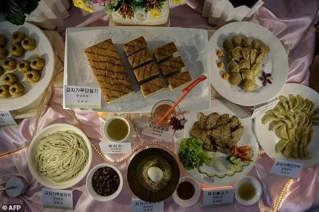 Khoai tây phủ sóng thực đơn tại cuộc thi đặc biệt ở Triều Tiên - ảnh 4