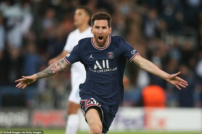Phá lưới' Man City, Lionel Messi cán cột mốc mới trong sự nghiệp | Bóng đá | Vietnam+ (VietnamPlus)