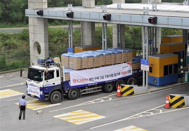 Mỹ nới lỏng cấm vận đối với dự án viện trợ nhân đạo cho Triều Tiên - ảnh 1